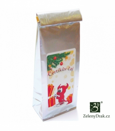 ČERTÍKŮV ČAJ - černý vánoční čaj