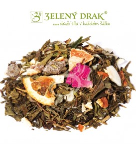 ČAJ BOHATSTVÍ - zelený sypaný čaj