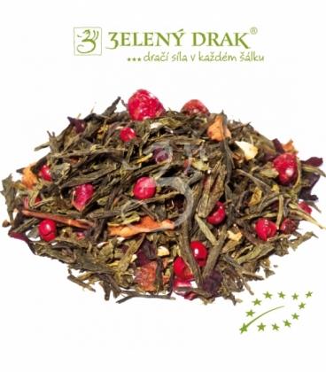 DRAČÍ OHEŇ BIO – zelený čaj s ohnivou silou draka