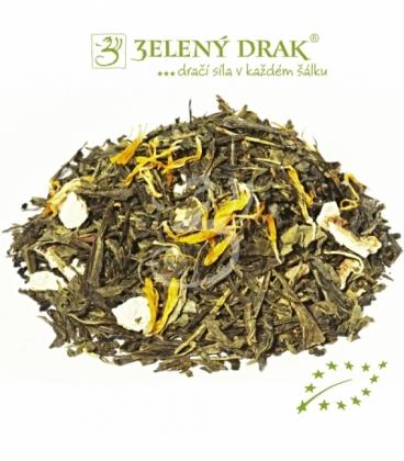 GOLEM BIO - zelený čaj magické chuti