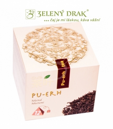 PU ERH - exkluzivní čaj v pyramidových sáčcích