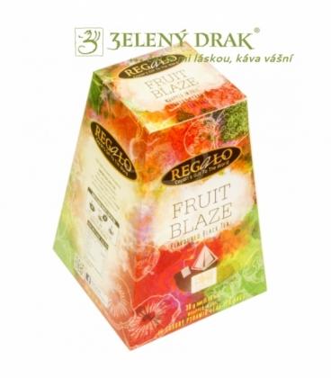 FRUIT BLAZE – porcovaný ochucený černý čaj v pyramidových sáčcích