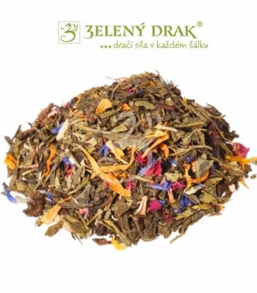 TIBETSKÝ CHRÁM SNŮ - zelený čaj
